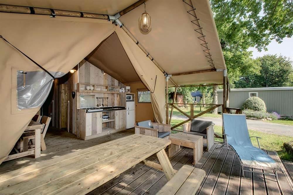 Tente Safari Lodge de Luxe