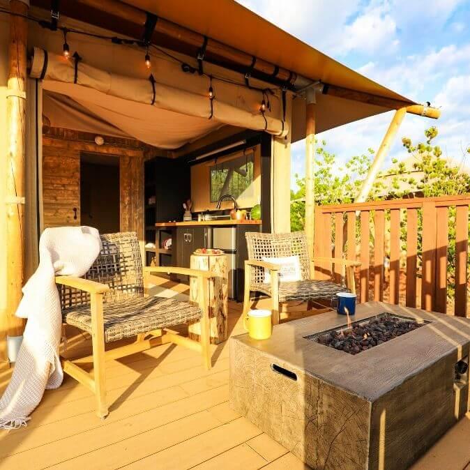 Tente Luxury Lodge